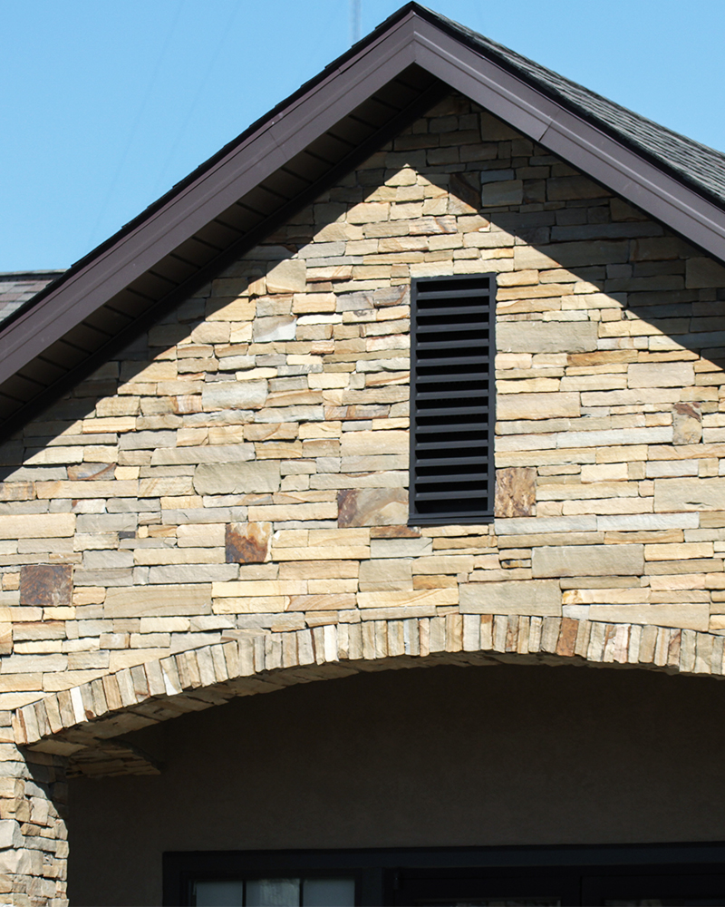 Earthtone Sandstone Building Stone (Strip Rubble)