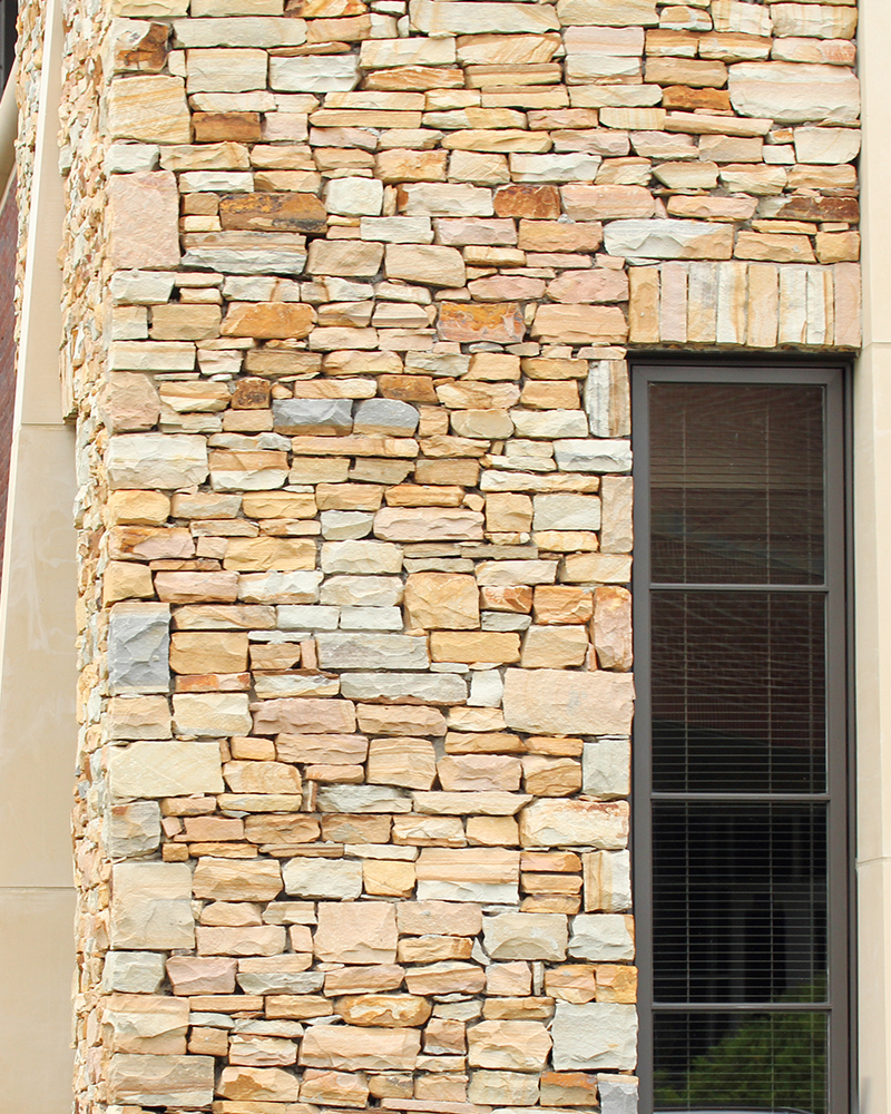 Medium Stack Earthtone Sandstone