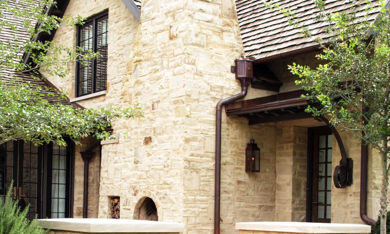 Mortar Wash Earthtone Sandstone Strip Rubble (Building Stone