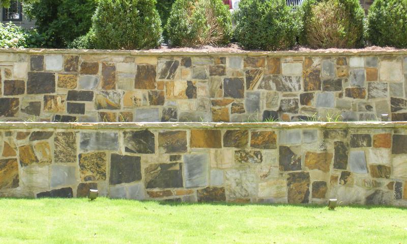 Squared Random Earthtone Sandstone Ashlar