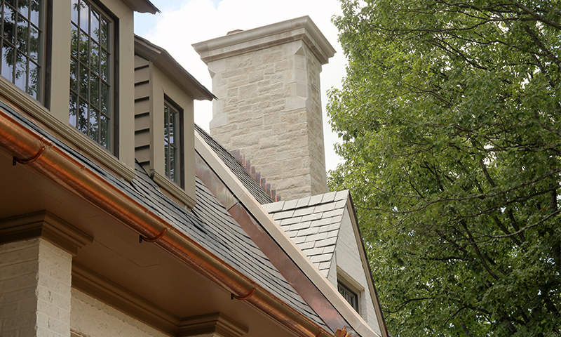 Indiana Limestone Chimney Cap