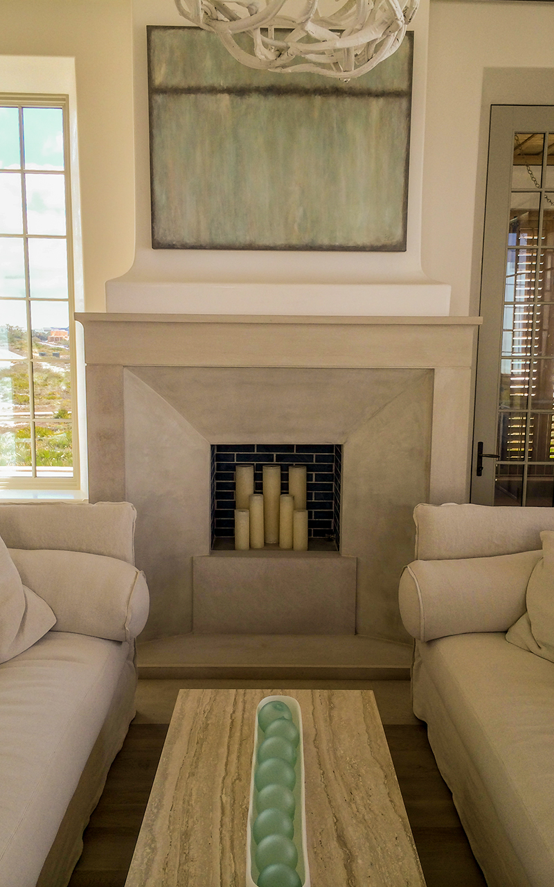 Mantle, Fireplace Surround, Mantel, Indiana Limestone