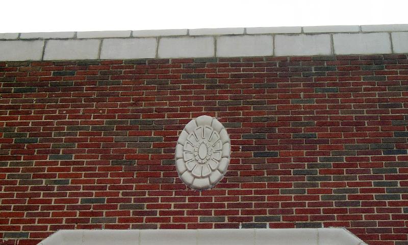 Indiana Limestone Medalion