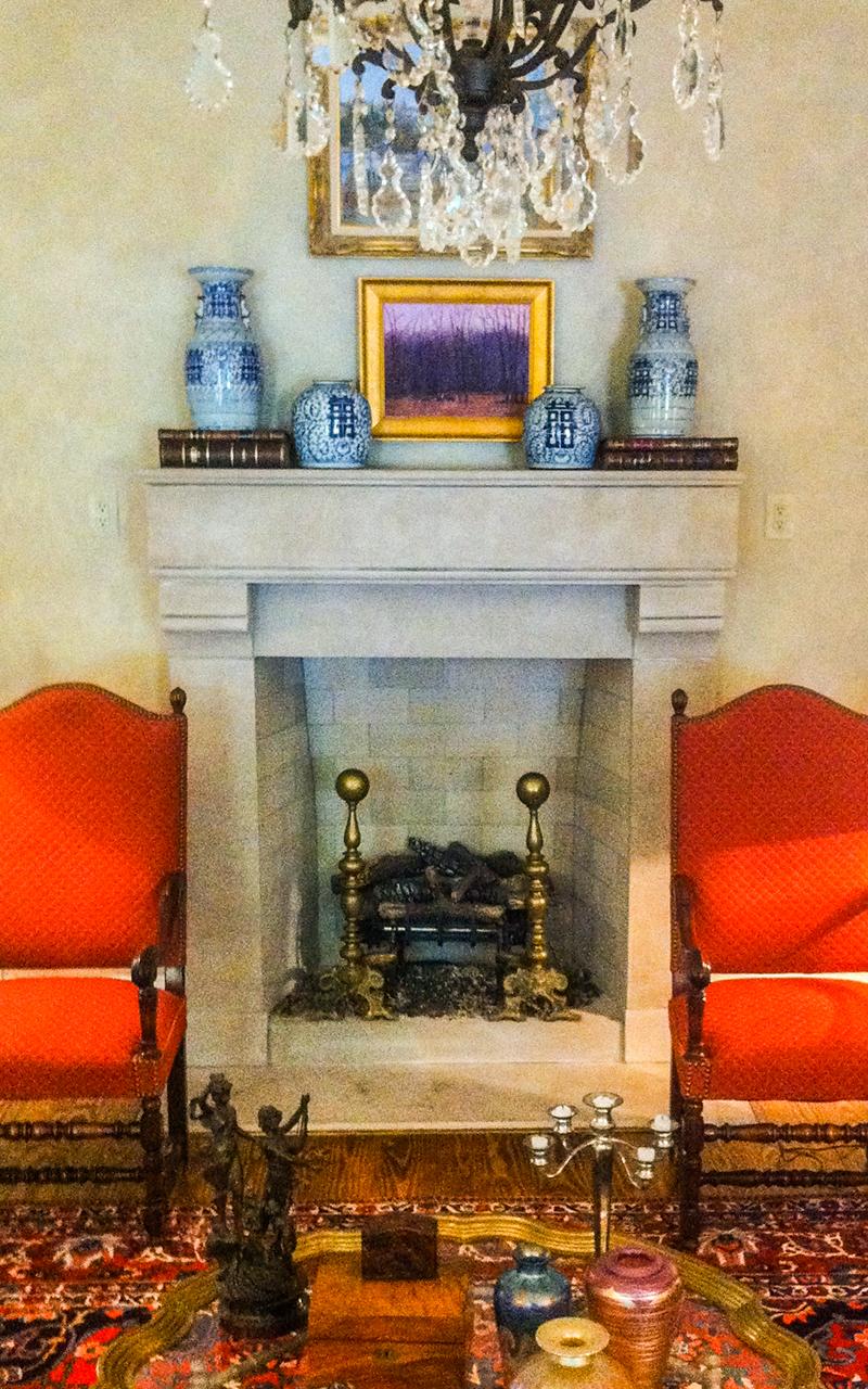 Indiana Limestone Fireplace Surround