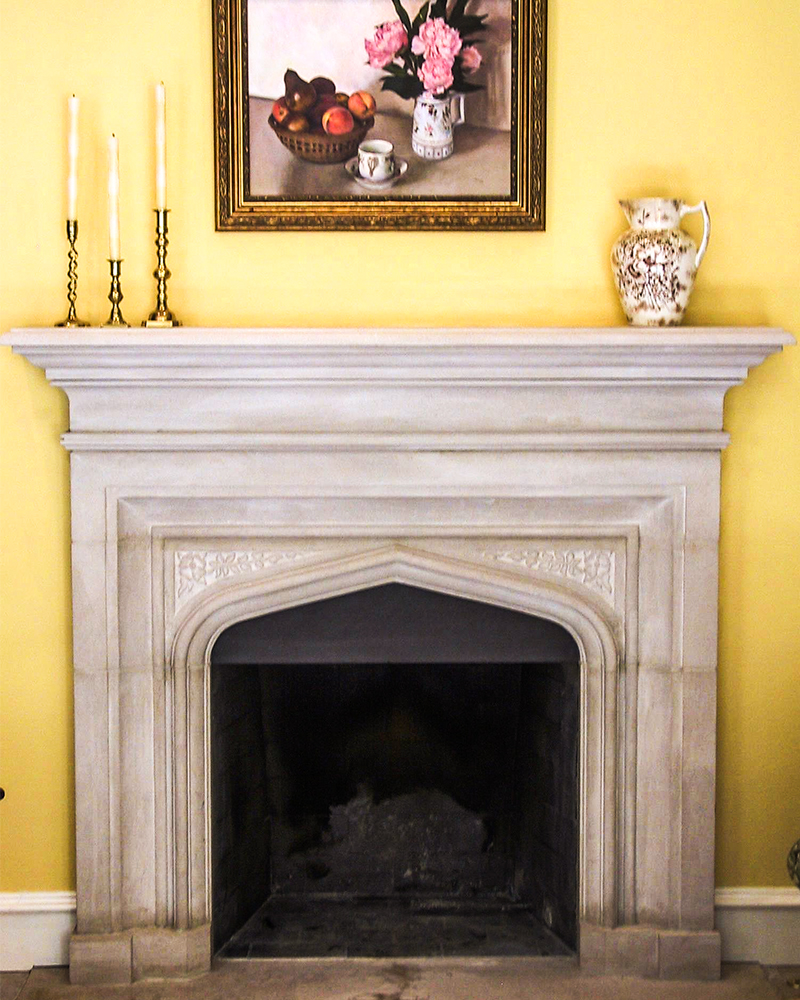 Gothic Fireplace Surround