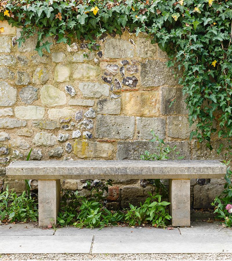 Indiana Limestone Bench