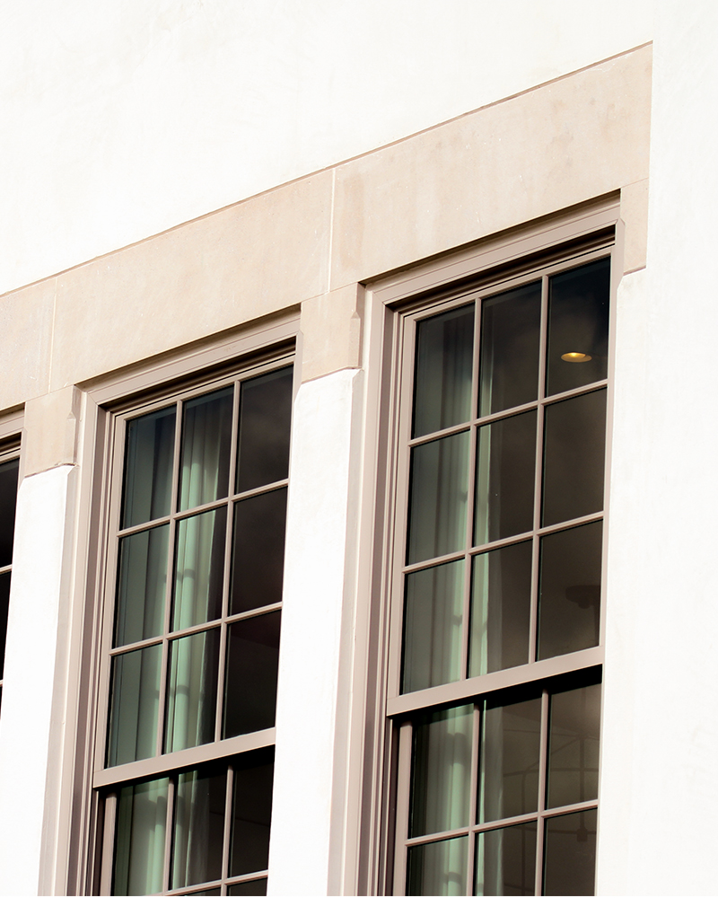 Limestone Window Surround