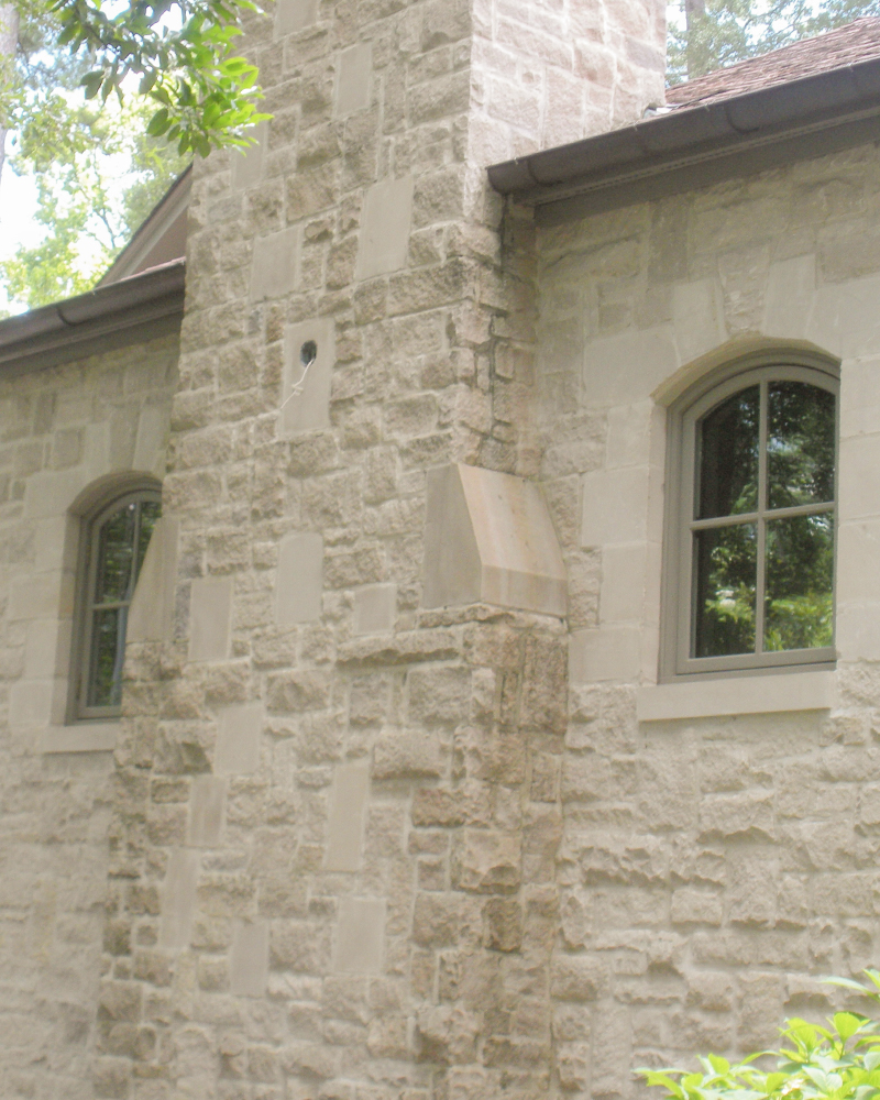 12LV Smooth Face And Splitfaced Indiana Limestone Veneer Blend