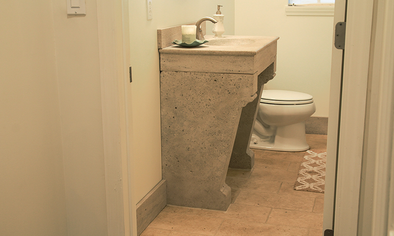 Gothic Indiana Limestone Custom Sink
