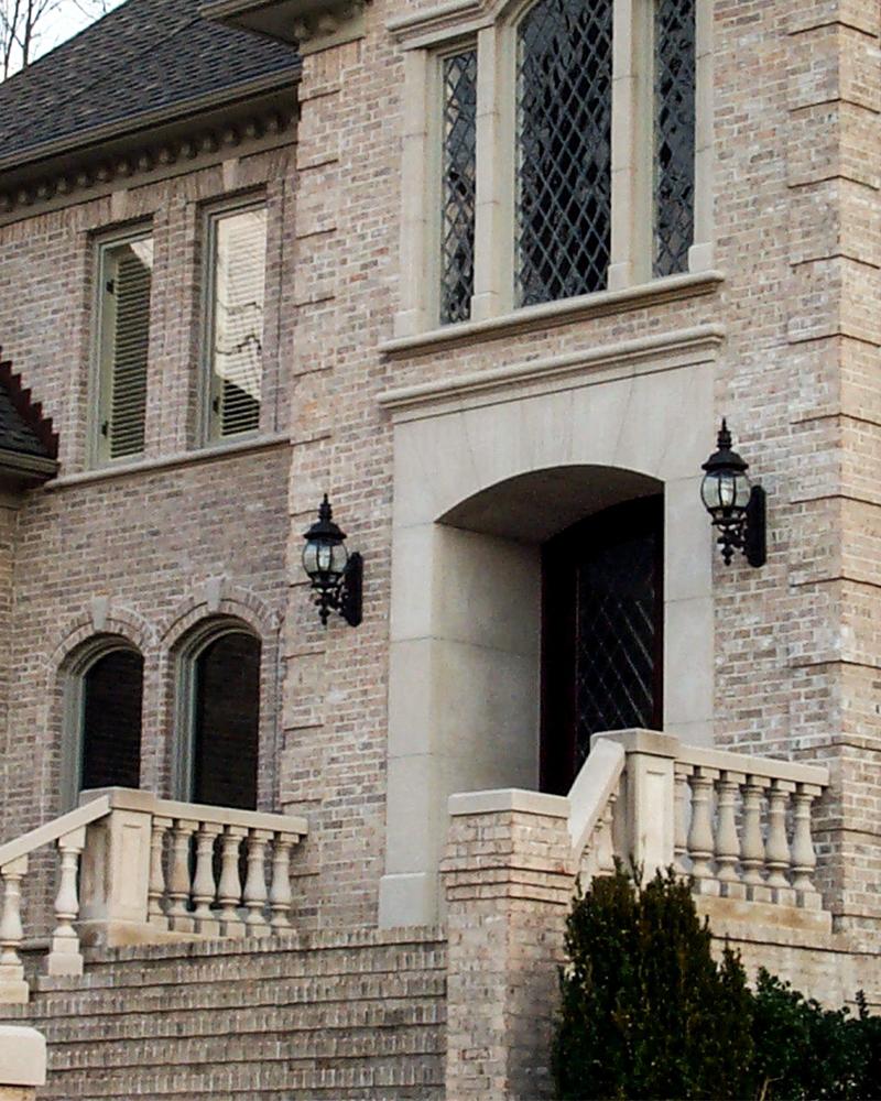 Indiana Limestone Balustrade System