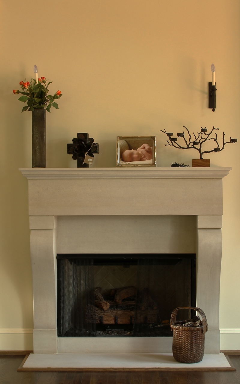 Family Room Fireplace Surround