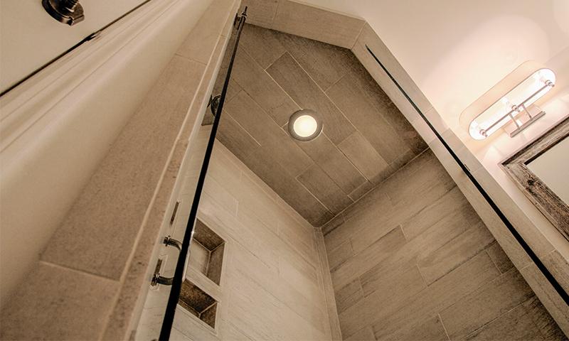 Alabama Limestone Shower Wall Paneling
