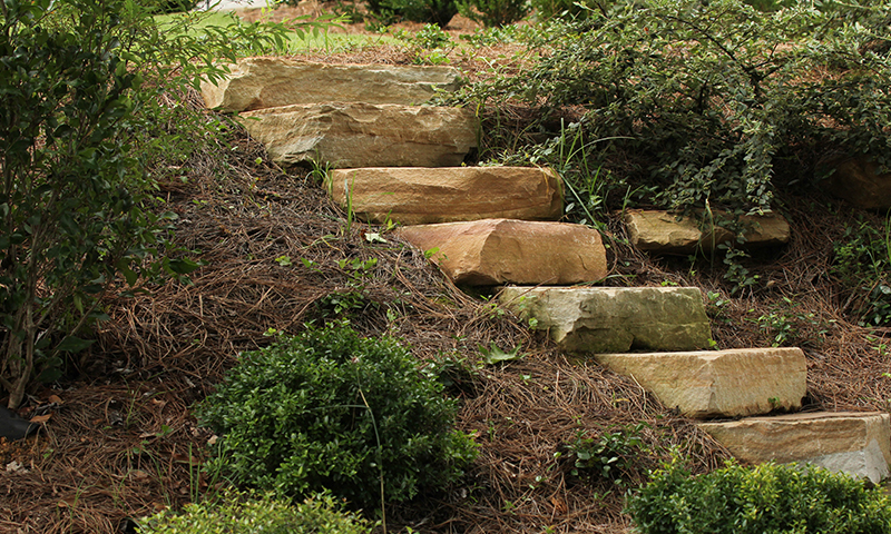 Earthtone Sandstone Solid Step Treads