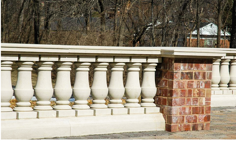 Stone Balustrade System and Column Cap