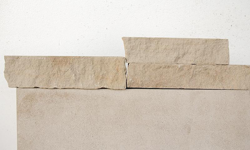 Splitface Edge Indiana Limestone