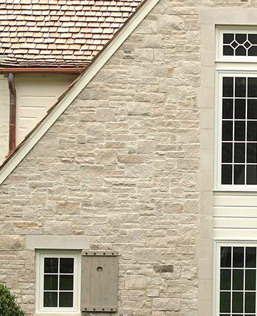 5SVP Random Pattern Splitface Indiana Limestone Veneer