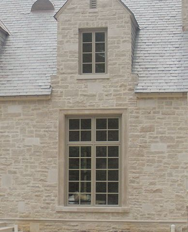 2LV Random Pattern Smooth Face And Splitface Indiana Limestone Blend