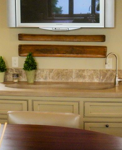 9SC Beeswaxed Indiana Limestone Countertop
